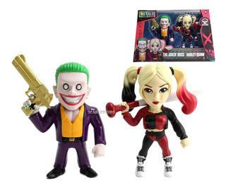 Guason + Harley Quinn Figuras Metals 11 Cm Diecast Dc Origin