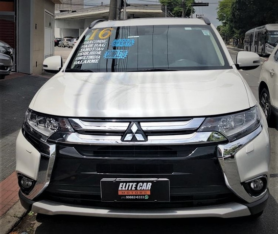 Mitsubishi Outlander 3.0 Gt 4x4 Completa 7 Lugares Com Couro