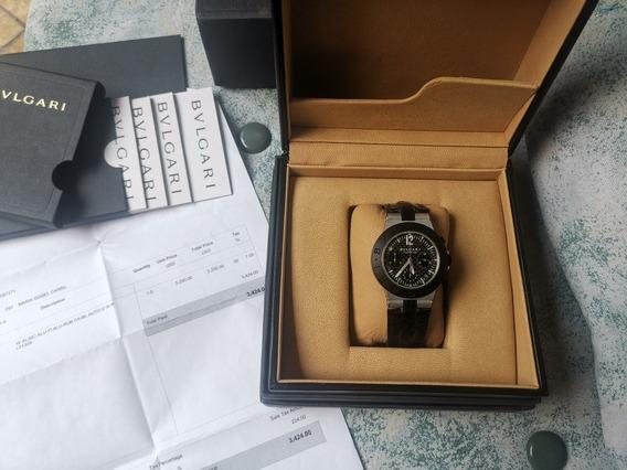 Reloj Bvlgari Chronograph Automático Full Set