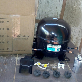 Compresor De 1/4 Nuevo Matsushita Americano Incluy Kit