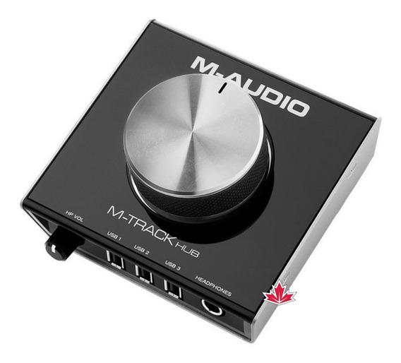 Interface De Monitoramento Usb M-audio M-track Air Hub