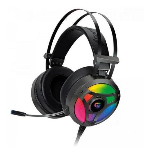 Headset Gamer Fone Rgb G Pro H1+ 7.1 Cinza Fortrek