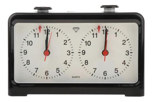 Imagen 1 de 11 de Preciso Reloj De Ajedrez De Cuarzo Juego De Mesa Profesional