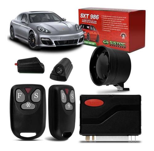 Imagem 1 de 4 de Alarme Automotivo Sistec Sxt986 Universal C/ 2 Controles