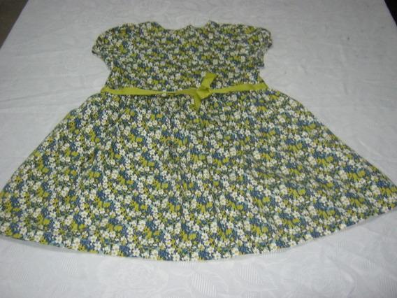Vestido Floriado De Niña Epk Costo 8 Verdes