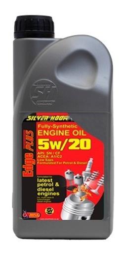 Aceite Semi-sintetico 5w20 Silver Hook 1 Litro