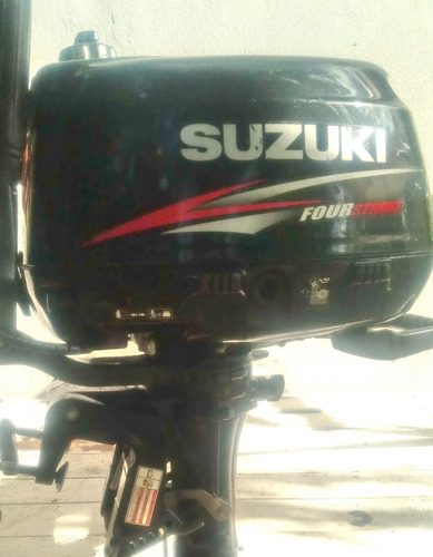 Motor Suzuki 6 Hp 4 Tiempos - Pata Corta