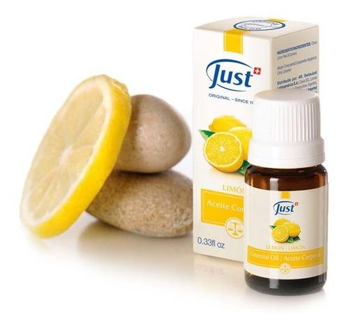 Imagen 1 de 6 de Aceite Esencial De Limon 10ml  Inspiración Just Original