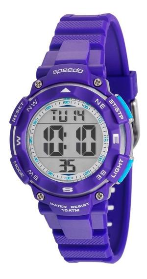 Relógio Speedo Digital Feminino/infantil 80616l0evnp3