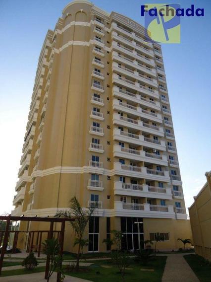 Excelente Apartamento Condomínio Parc Du Soleil ,apartamento Com 2 Dormitórios Para Alugar, 65 M² Por R$ 1.350/mês - Cambeba - Fortaleza/ce - Ap0254