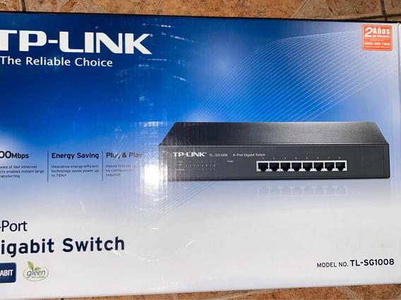 Gigabit Switch Tp Link 8 Bocas