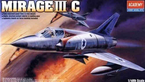Academy Avion Mirage Iii C 1/48 Supertoys