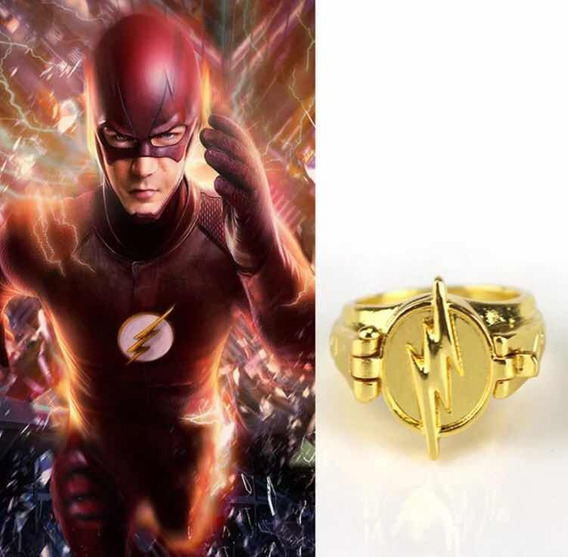 Anel Flash Pronta Entrega Colecionador Cosplay