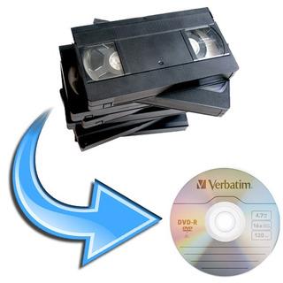 Conversion Pasaje Cassette Vhs, Minidv, 8mm, Hi8, Vhsc A Dvd