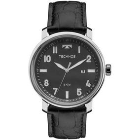Relógio Technos Masculino Ref: 2115mni/0p Social Prateado