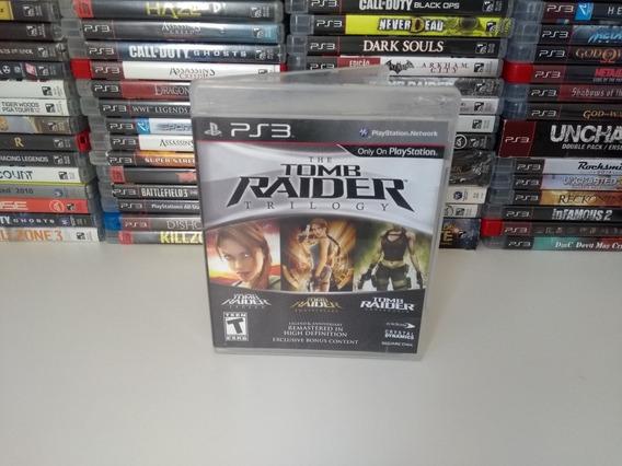 Tomb Raider Trilogy - Ps3 Mídia Física