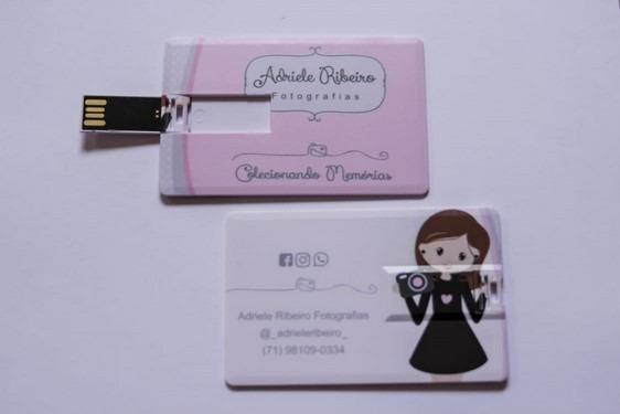 Lote 10 Unidades - Pen Cards Personalizados 8gb