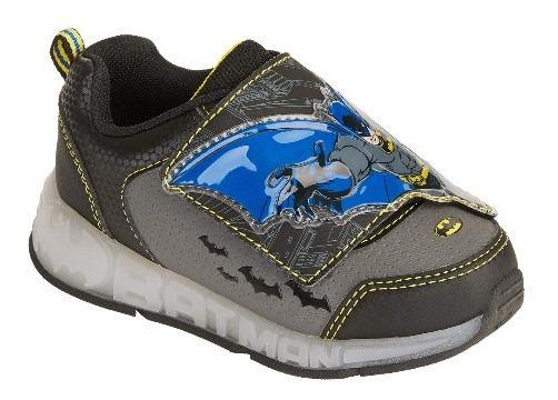 Zapatos Deportivos Batman Luces De Niños