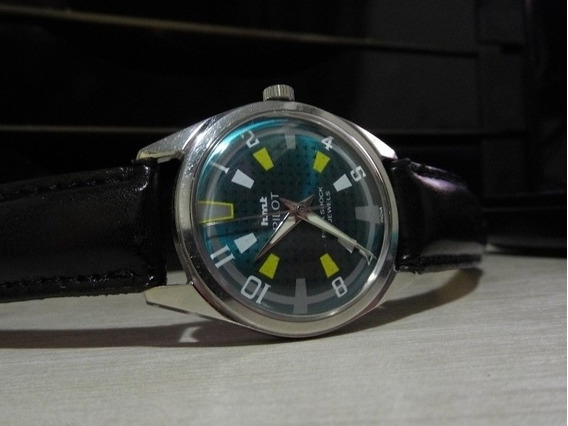Relógio Hmt Pilot (mov. Mecânico Manual)