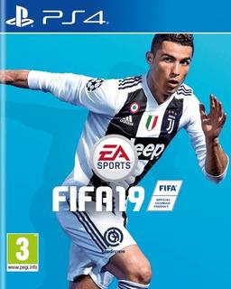 Fifa 19 Ps4 Disco Físico Sellado Playstation 4 Latino