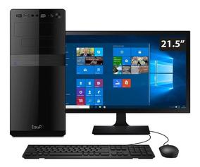 Computador Easypc I5 8gb Hd 1tb Monitor 21.5 Windows 10