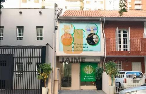 Casa Comercial Em Moema , Localização Privilegiada - Ja17546
