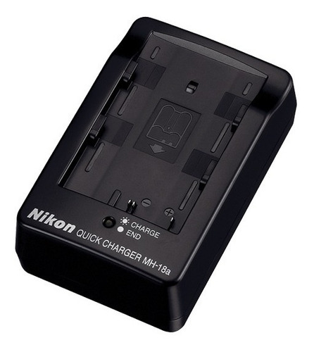Imagen 1 de 3 de Nikon Mh-18a Cargador Rápido Para Batería En-el3