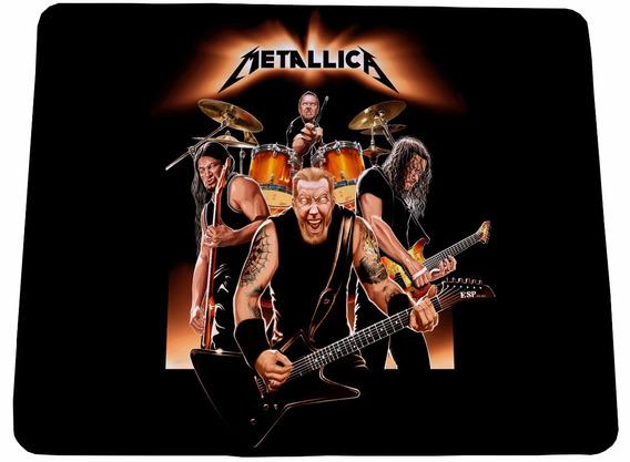 Mouse Pad Metallica - 21x17cm - Frete Grátis