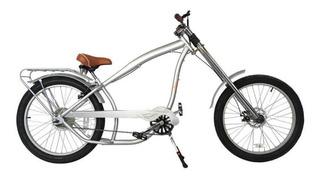 Bicicleta Chopper Estilo Nirve - Prata