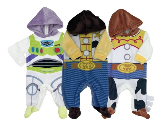 Kit 3 Mamelucos Disney Buzz, Woody, Jessie A Precio De 2