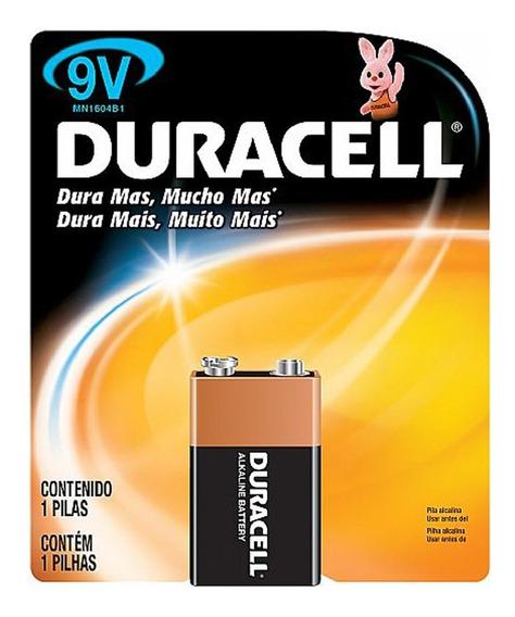 Bateria Duracell Alcalina 9 Volts Mn1604