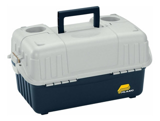Caja Pesca Ambulancia Plano Mod 8616 6 Bandejas Made In Usa!