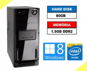 Cpu Pentium 4 3,06ghz, 1.5gb Ddr2, Hd 80gb, Office, Win 8