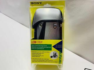 Sony Estuche Semiblando Color Plata Para Videocámara Dvd 4k
