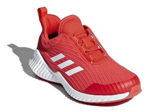 Zapatillas adidas Fortarun Rojo Tallas 28-34 Para Niños Ndpp
