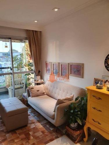 Apartamento Com 2 Dormitórios À Venda, 60 M² Por R$ 400.000,00 - Tatuapé - São Paulo/sp - Ap3465