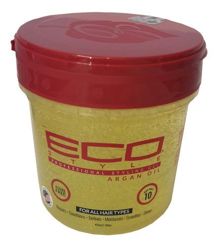 Eco Style Gel Con Aciete De Argán 16 Oz - mL a $76
