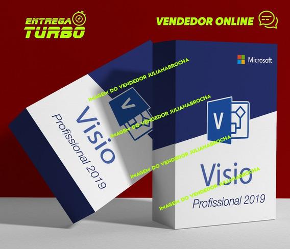 Serial Licença Visio 2019 Pro Vitalício + Suporte