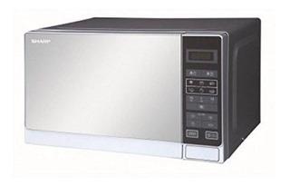Sharp R-20mt 20 Litros 800w De Microonda, 220 Voltios (no Pa