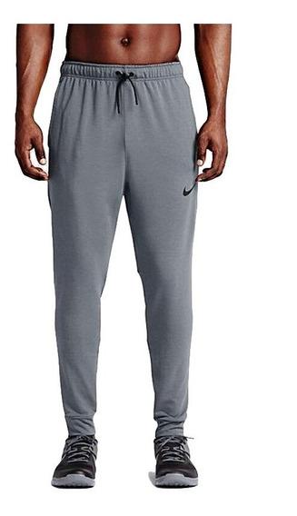 Calça Original Nike Dry Pant Df Training Flc Nfs - Cinza