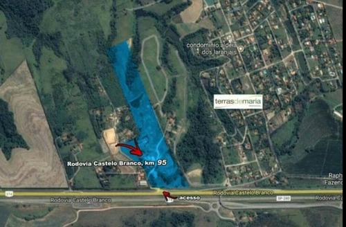 Imagem 1 de 19 de Área À Venda, 178000 M² Por R$ 28.480.000 - Aldeia Dos Laranjais - Porto Feliz/sp - Ar0049