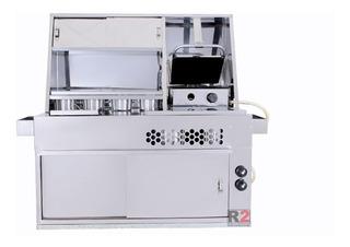 Kit Cachorro Quente Inox Towner/fiorino, Hot Dog Completo R2