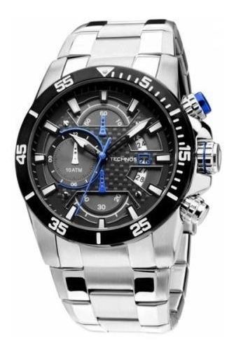 Relógio Technos Masculino Cronografo Os10er/1a Loja Autoriz.
