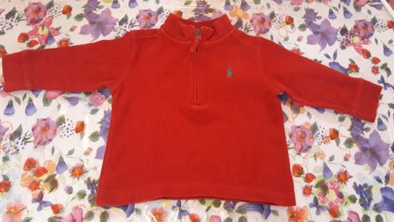 Suéter Baby Vermelho Ralph Lauren 12 Meses