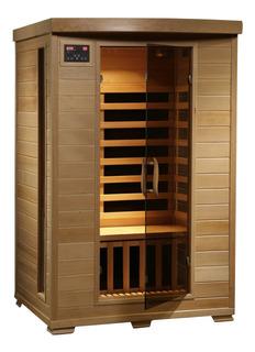Radiant Saunas 2-person Hemlock Infrared Sauna With 6 Carbon