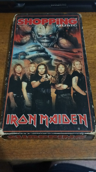 Fita Vhs Iron Maiden Shopping Music