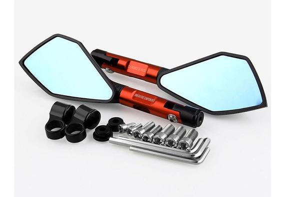 8mm/10mm Cnc Motocicleta Retrovisor Espelhos Laterais Para R