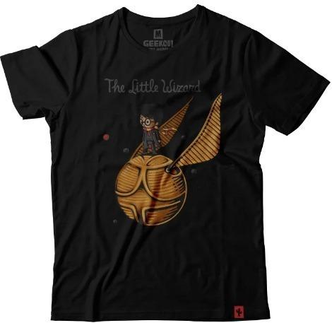 Camiseta Harry Potter Camisa Pomo De Ouro Blusa Geek Nerd