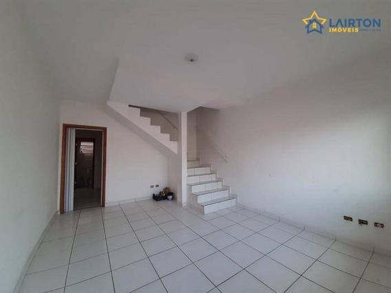 Ótimo Sobrado Com 2 Dormitórios À Venda, 70 M² Por R$ 168 Mil - Jardim Imperial - Atibaia Sp - Ca1943