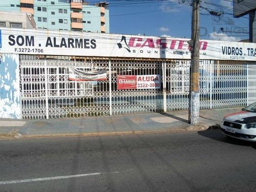 Barracão Para Alugar, 660 M² Por R$ 9.800/mês - São Bernardo - Campinas/sp - Ba0671